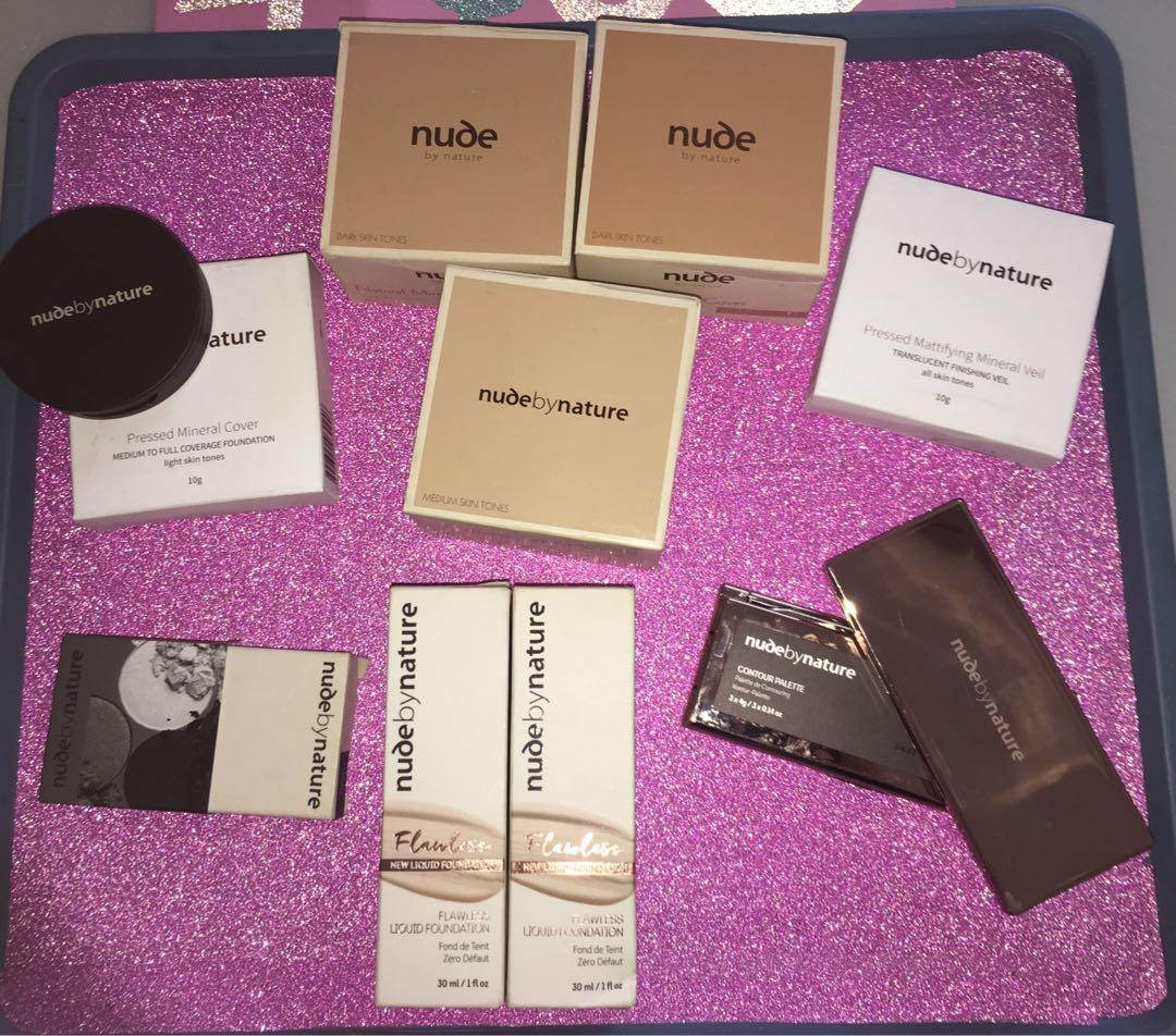 Brand new nude by nature make up
