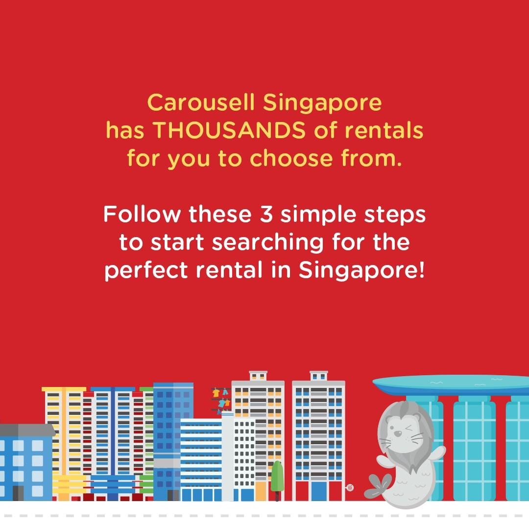 Check out home rentals on Carousell SG!