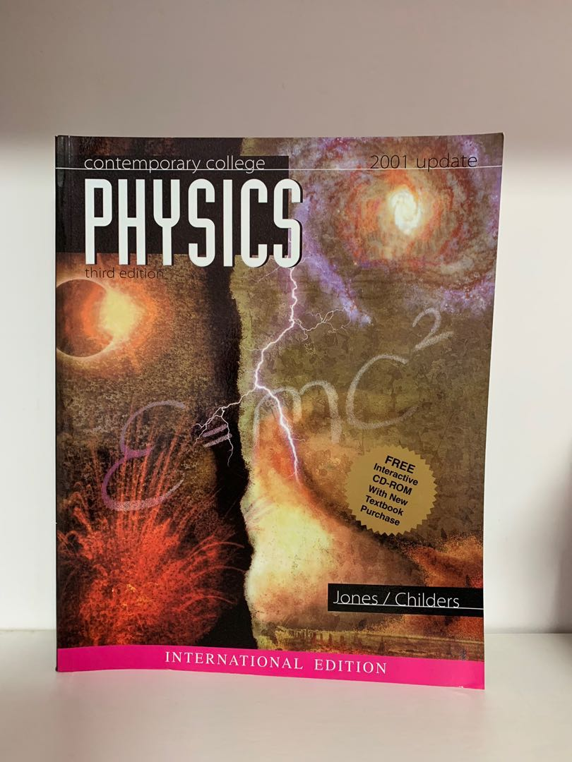 Contemporary College Physics, Books & Stationery, Textbooks
