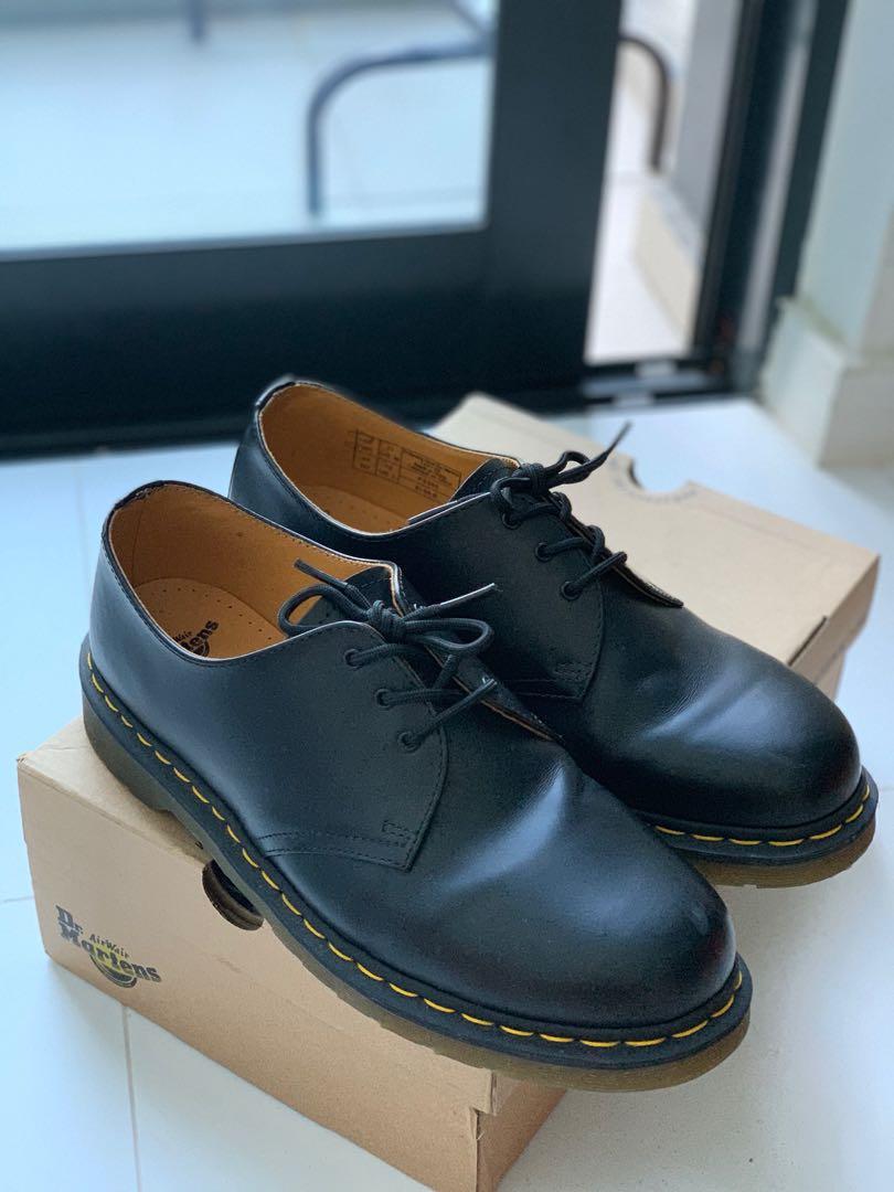 7021826f5e Dr Martens original 3-eye shoes in black, Men's Fashion, Footwear ...