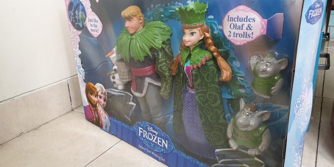 Frozen Deluxe Troll Wedding Set