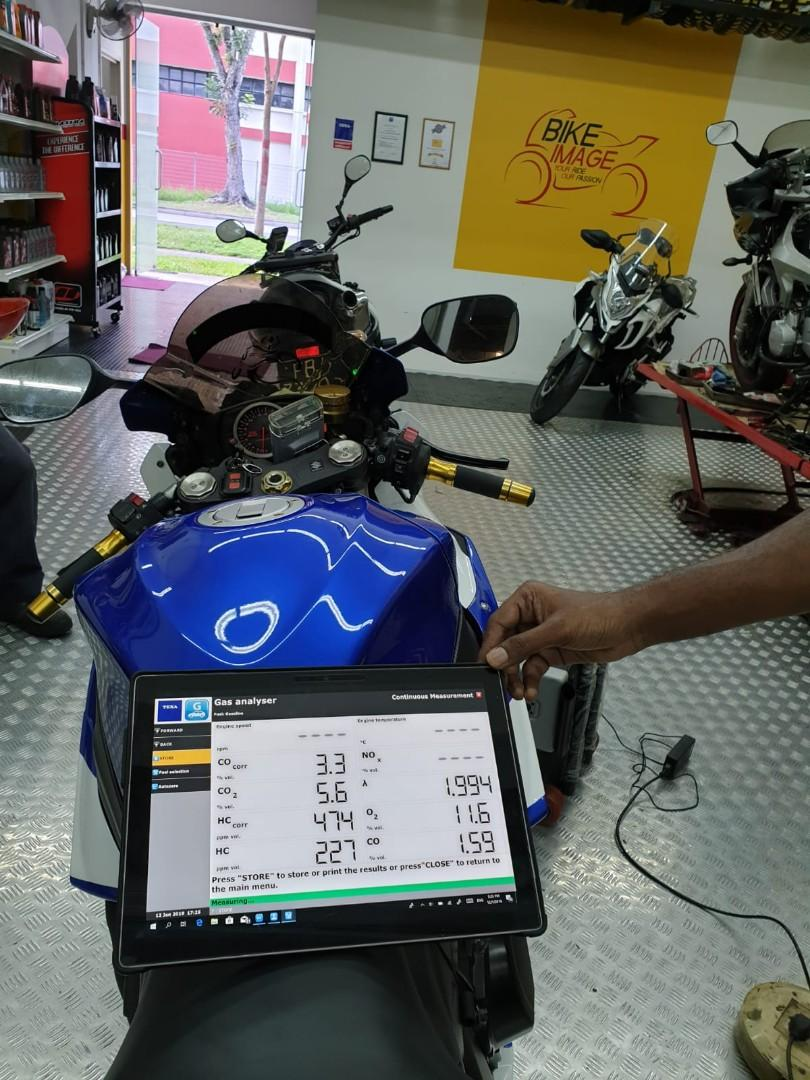 Fuel Injectors & Throttle Body Cleaning Services, Motorbikes
