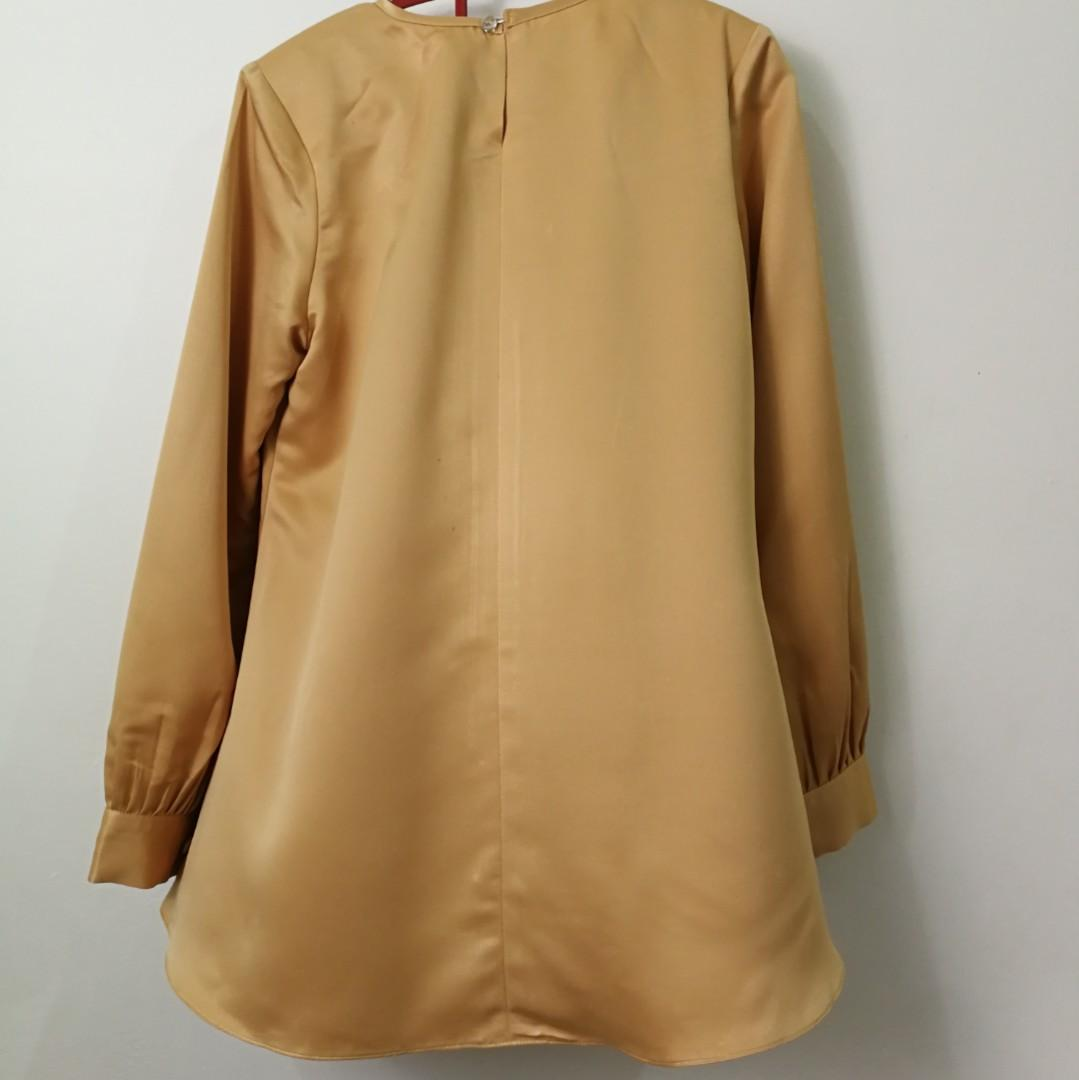 Gold Blouse - New