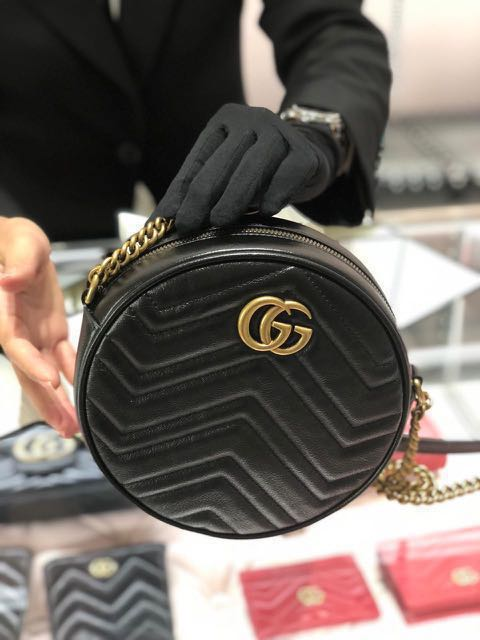 226f499e3 Gucci Marmont Round Shoulder Bag. Authentic and Brand New., Women's  Fashion, Bags & Wallets, Handbags on Carousell