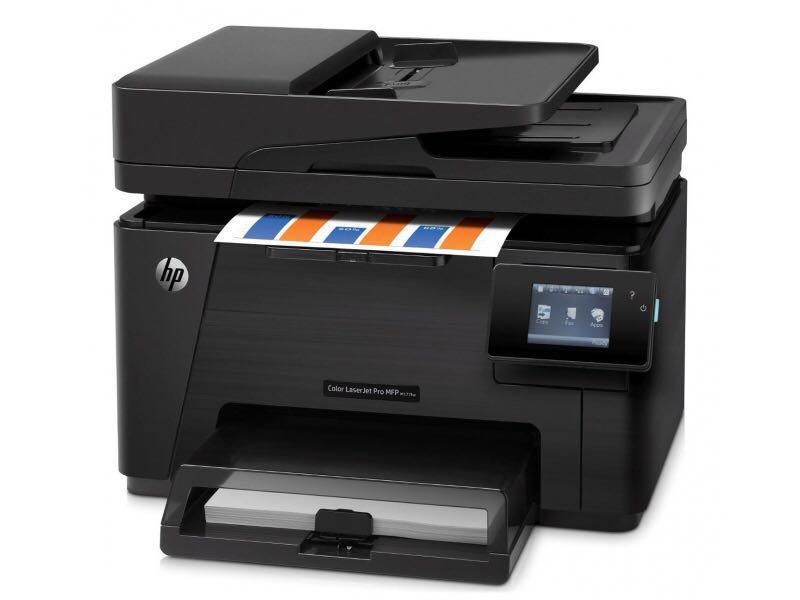 HP Color MFP M177fw wifi warranty one year