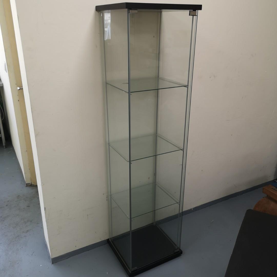 Ikea glass display cabinet, Furniture & Home Living, Furniture ...