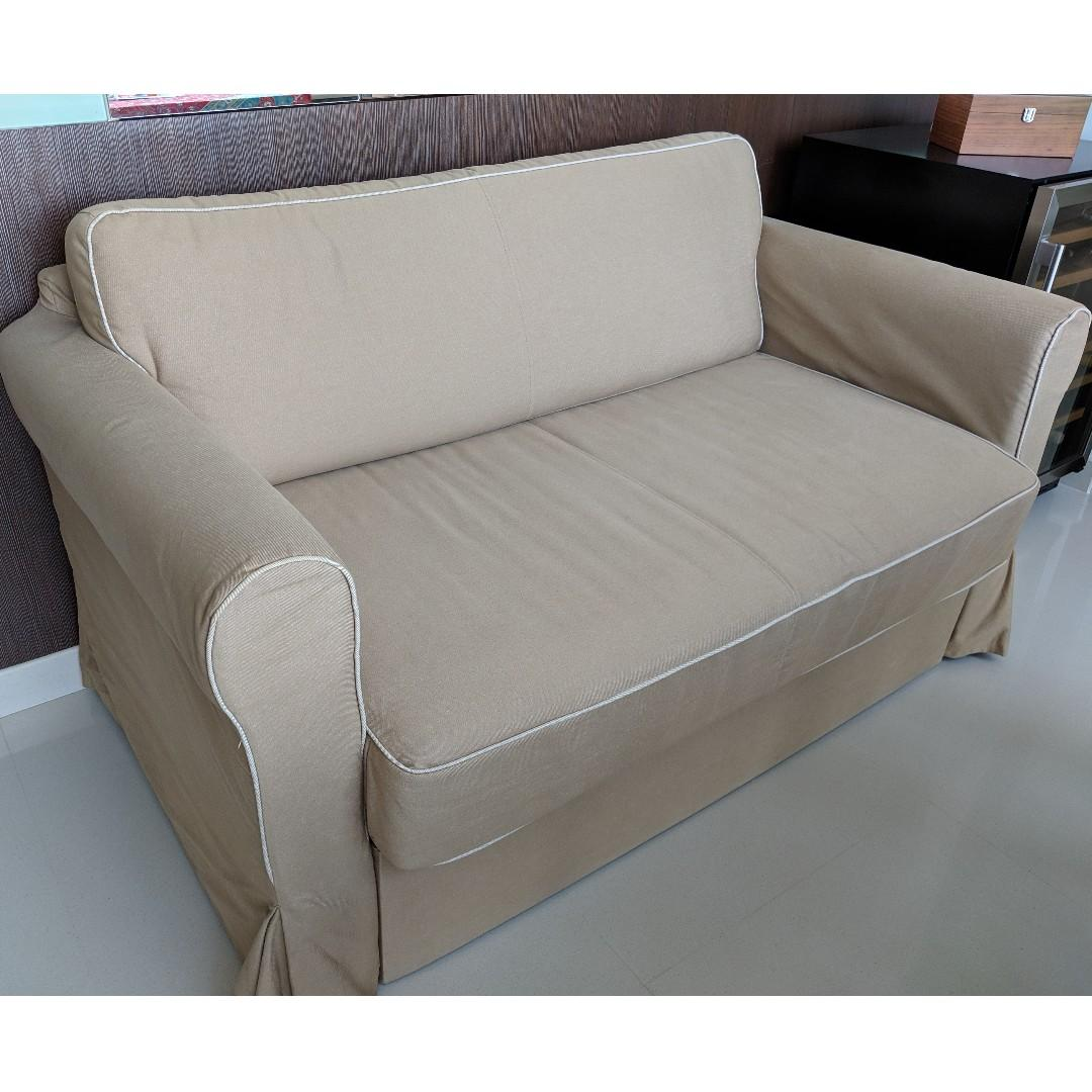 Verwonderend IKEA HAGALUND SOFA BED, Furniture, Sofas on Carousell PN-49