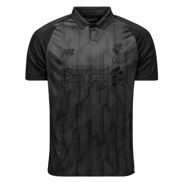timeless design 1ec98 1aab0 Liverpool Special Limited Edition Blackout Jersey (2018/2019 ...
