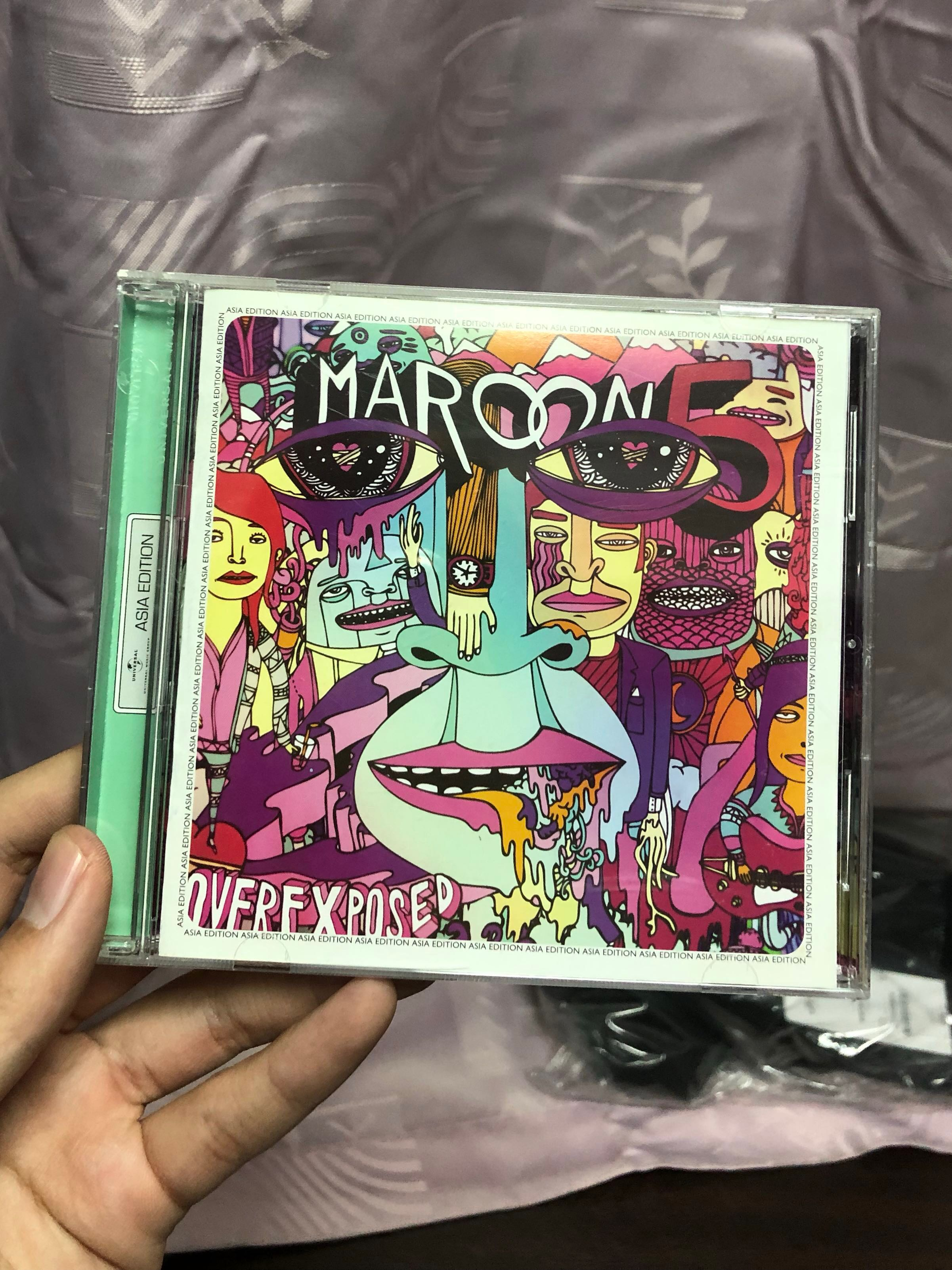 maroon 5 overexposed (deluxe version)