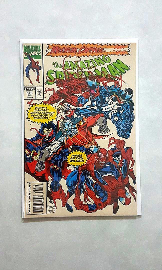Marvel Comics Amazing Spider Man 379 Near Mint Condition Maximum