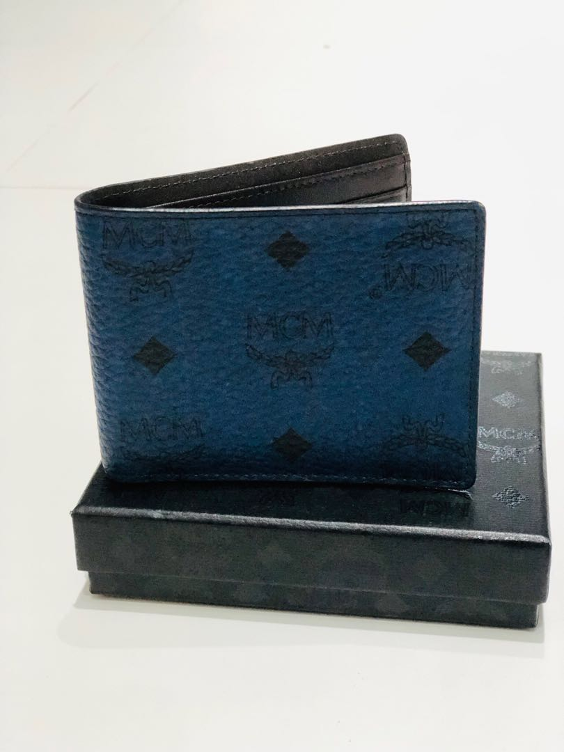 e1418331232a MCM Claus Bifold Wallet, Men's Fashion, Bags & Wallets, Wallets on ...