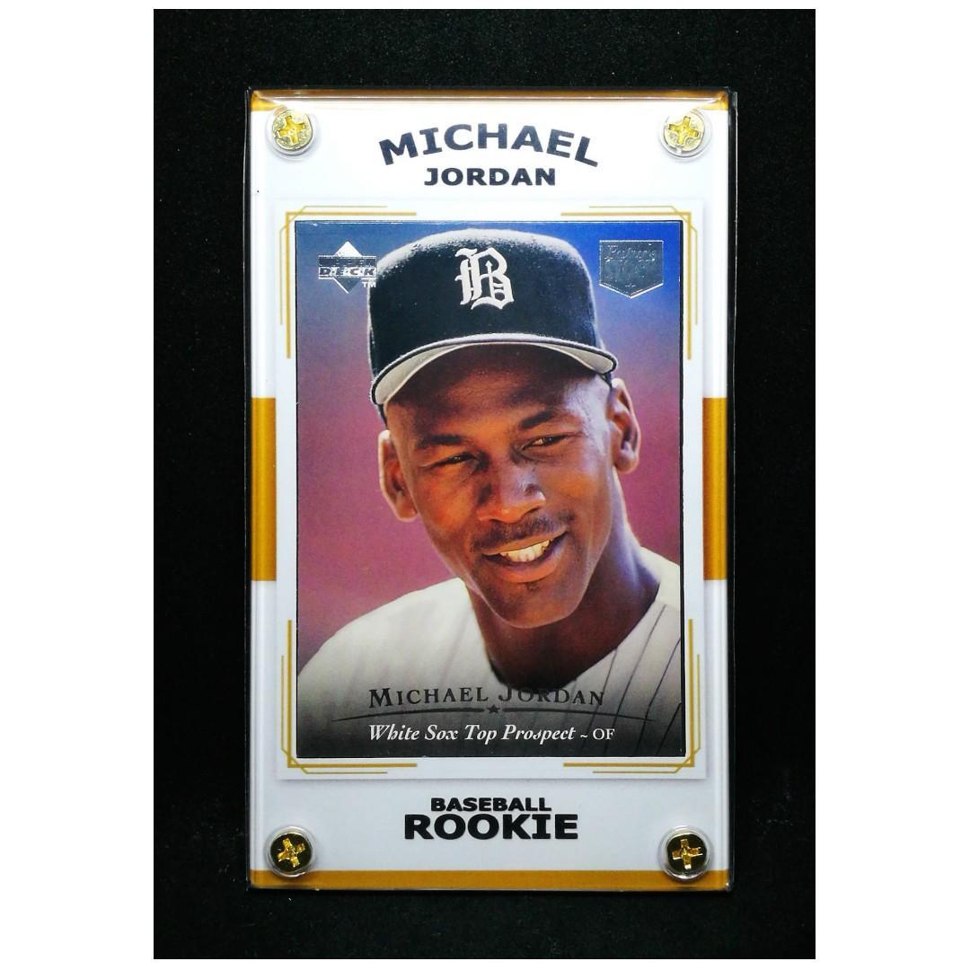 Michael Jordan 1994 Rookie Ud Top Prospect Baseball Card On Carousell
