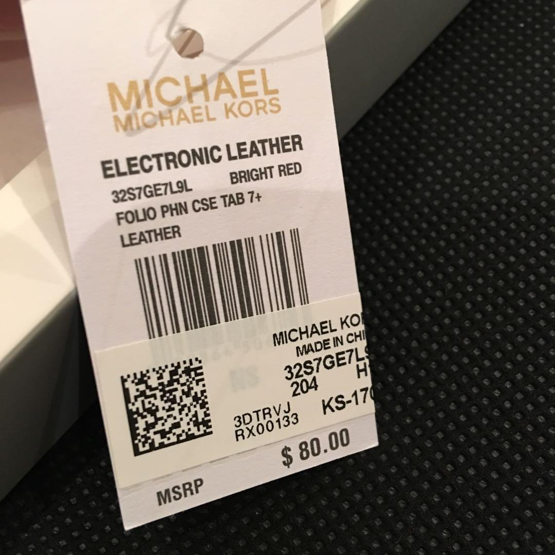 Michael Kors case for iPhone 7 plus or iPhone 7s plus