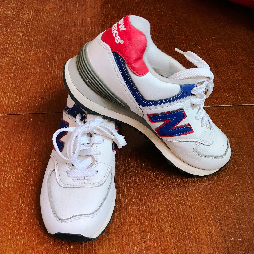 New Balance 574 White Leather 1a2a7a8730