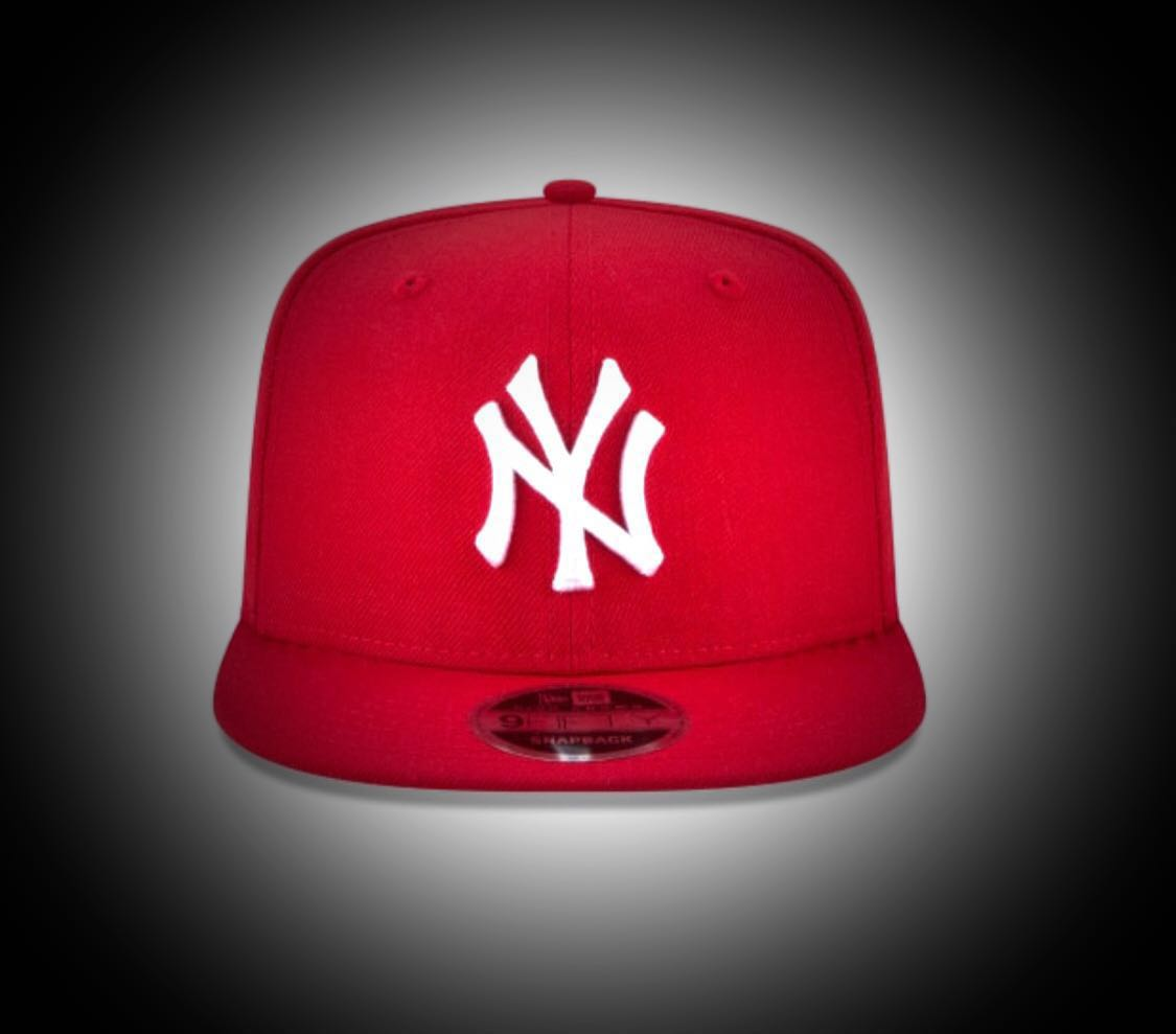 ccd4e6d1 NEW YORK YANKEES SCARLET 🔥HIGH CROWN🔥 9FIFTY SNAPBACK PRE-ORDER ...