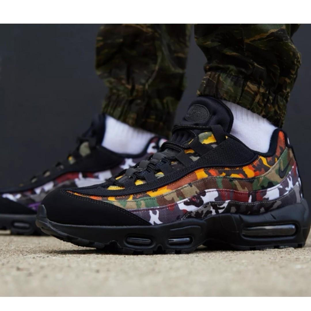 check out e81e7 8be99 Nike Air Max 95 OG MC SP Black (ERDL), Fesyen Lelaki, Kasut Lelaki,  Sneakers di Carousell