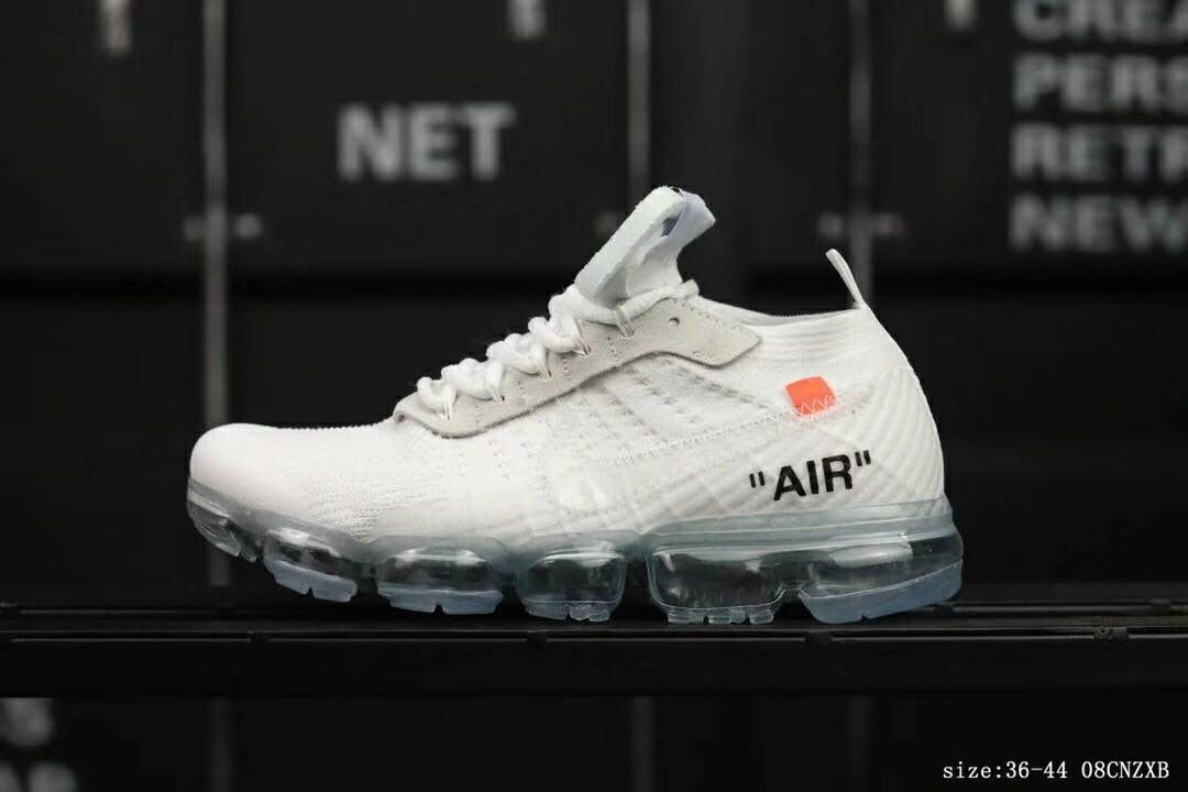size 40 56163 e0b4c Nike Vapormax x Off White All White