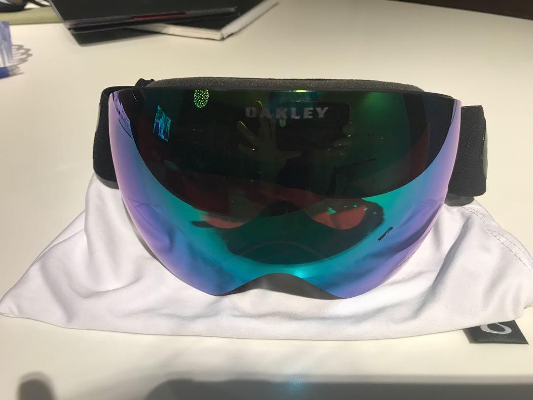 06161f9f097a Oakley Prizium Jade Iridium Flight Deck Ski goggles