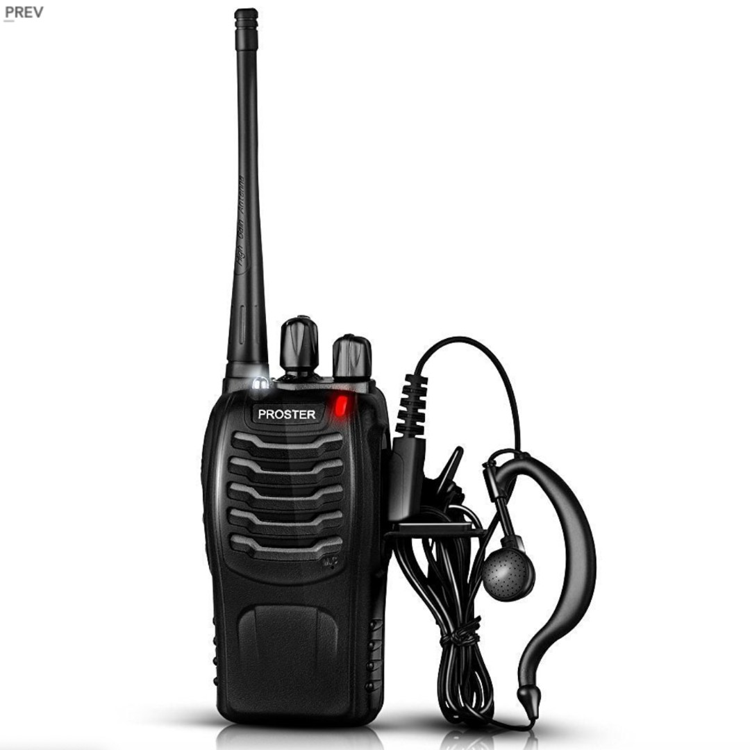 P14 PROSTER WALKIE TALKIES TWO WAY RADIO 16 CHANNEL