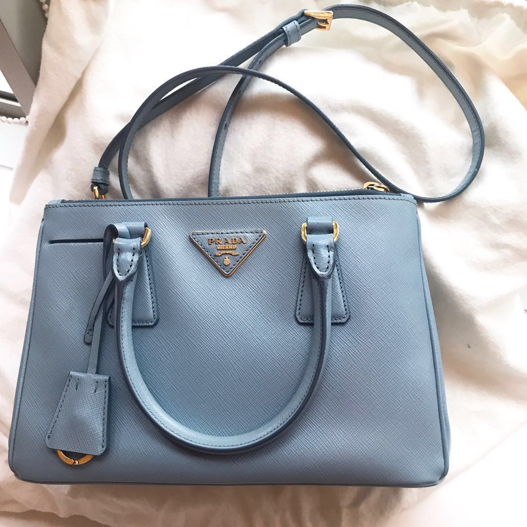 c800c91e0edc9d Prada Saffiano Small Leather Tote, Women's Fashion, Bags & Wallets ...