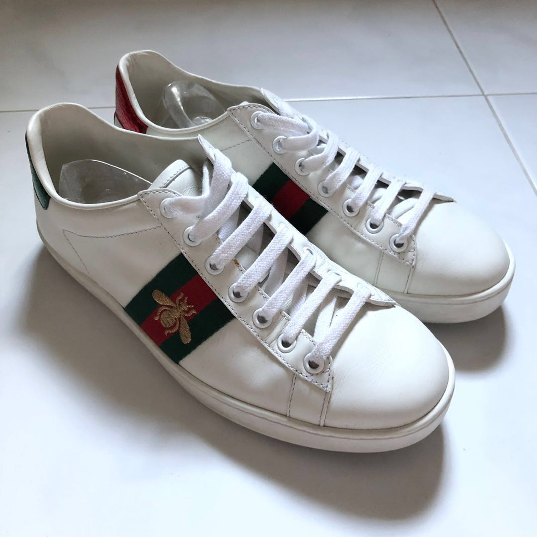 613700c7ae7 Preloved  Authentic Gucci Ace Sneakers