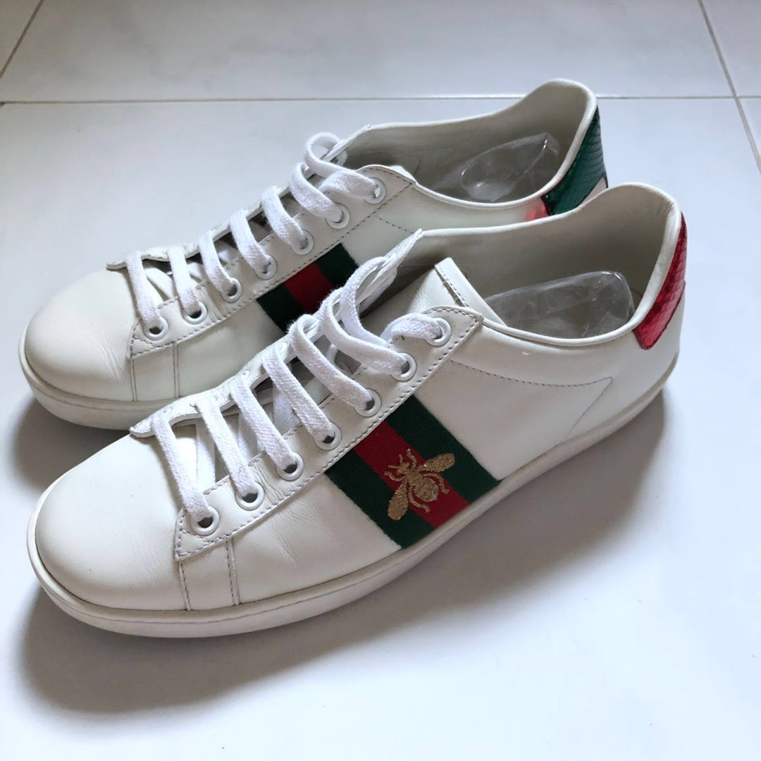9c71e422a38  Preloved  Authentic Gucci Ace Sneakers