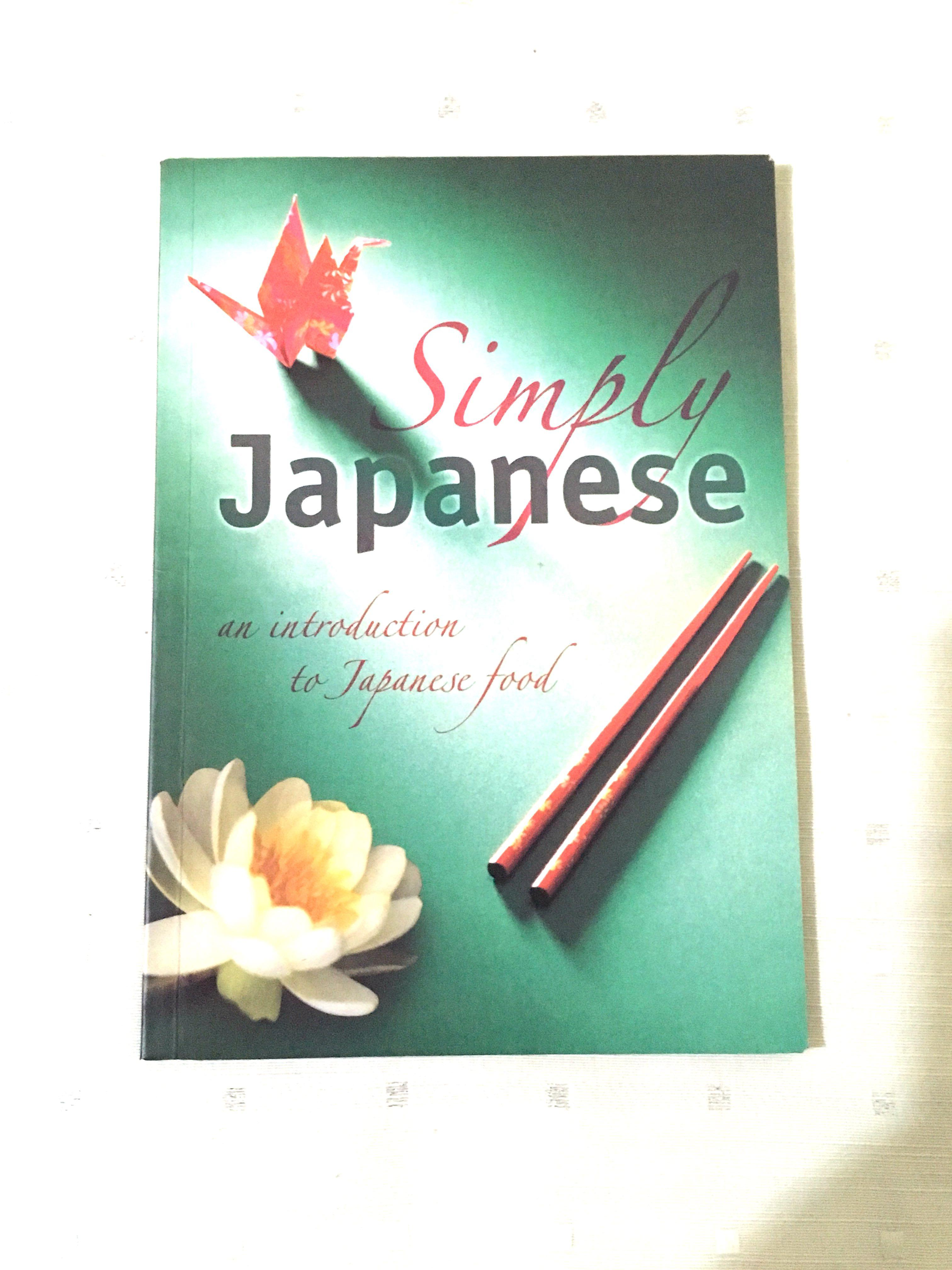 Simply Japanese An Introduction to Japanese Food Cookbook