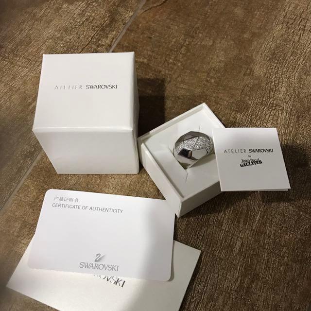 c9092a4ba40a Swarovski Ring Atelier Jean Paul Gaultier for Atelier Swarovski ...