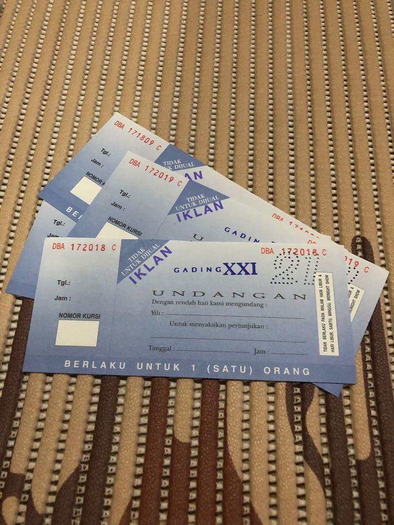 Tiket Cinema Bioskop Xxi Gading Tickets Vouchers Attractions On