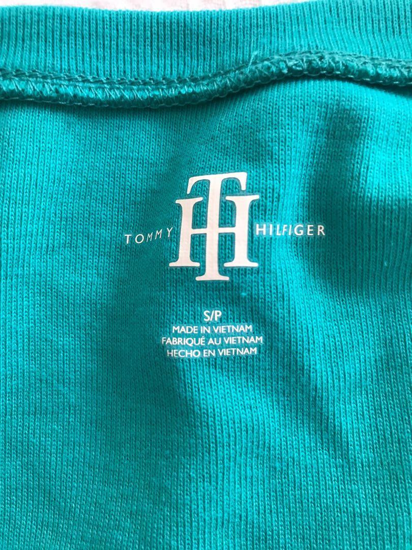 Tommy Hilfiger Aqua Tee