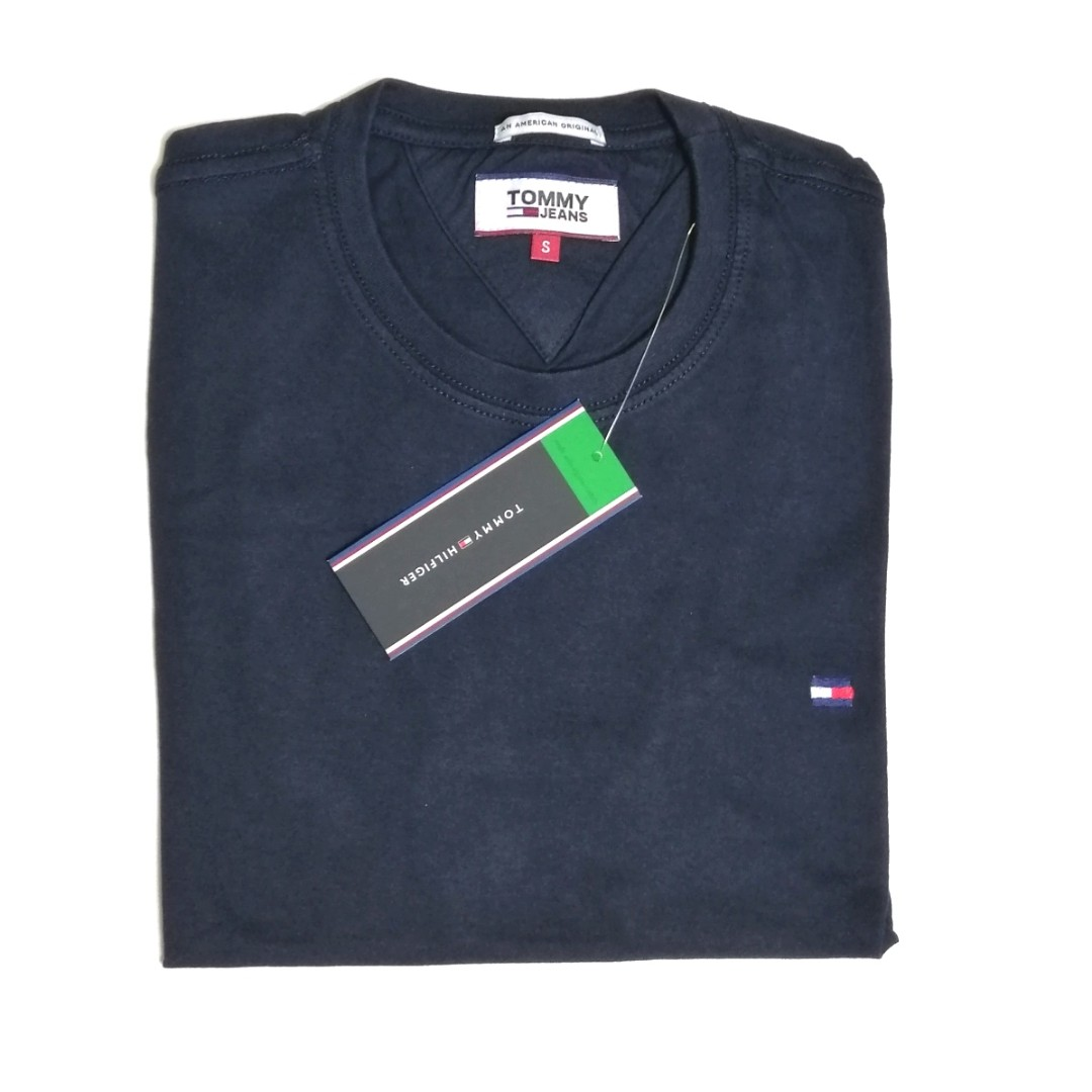 da35aa44 Tommy Hilfiger Jeans T Shirt Classic Navy, Men's Fashion, Clothes ...