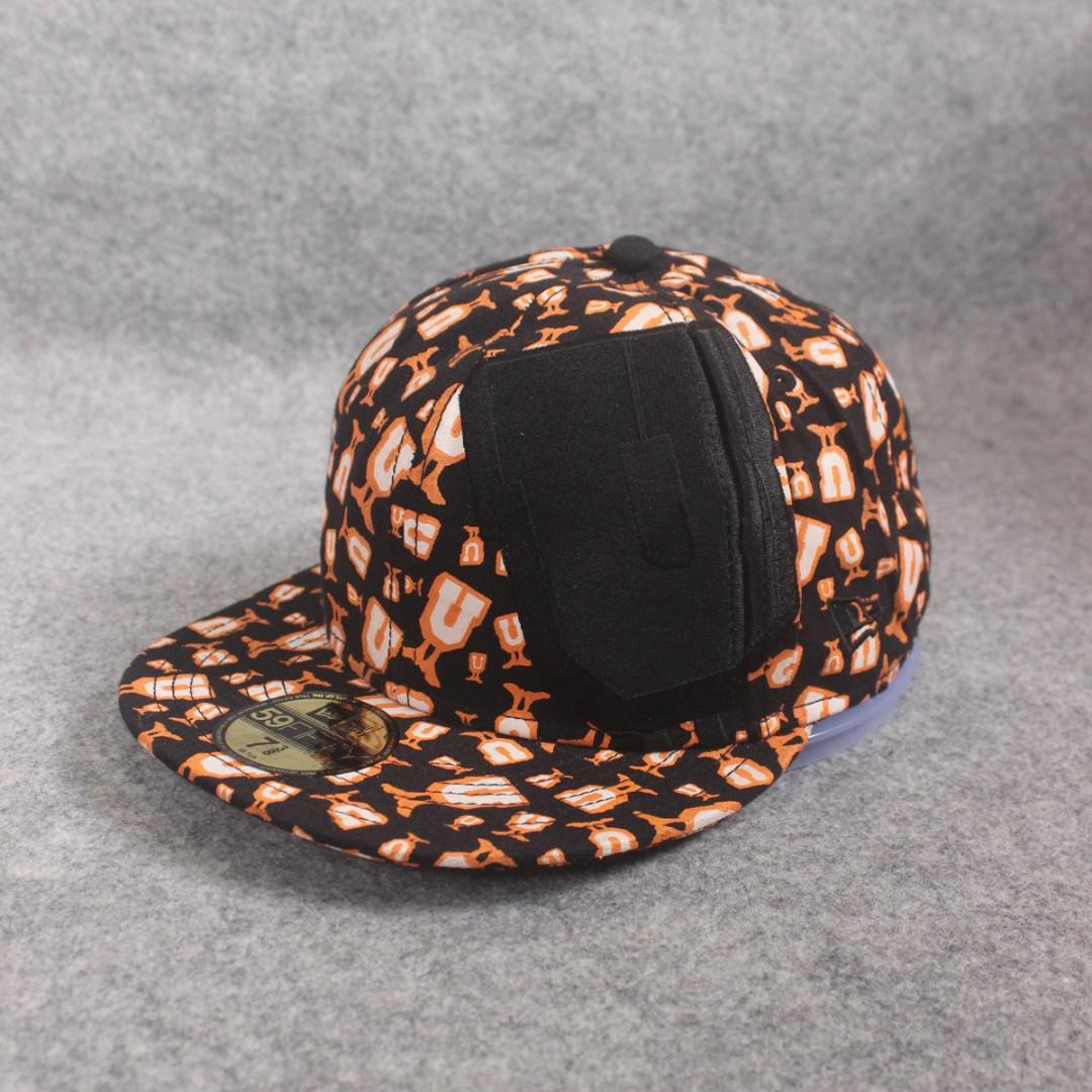 size 40 f40c9 b4e29 Topi New Era Snapback Undefeated Black Orange Second Original Murah