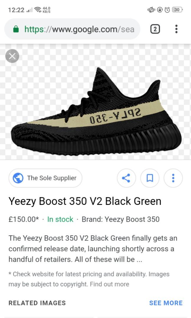 da09de5f31d3 Yeezy 350 V2  Olive Green