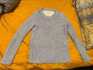 Superdry shiny grey sweaters 極度乾燥銀灰色冷衫