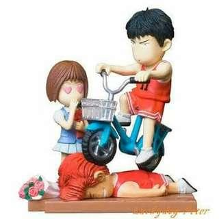 Diorama Slam Dunk Rukawa Bicycle