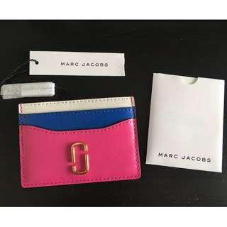 *New* Marc Jacobs Snapshot Leather Card Case Card Holder Pink