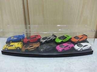 10 大 Lamborghini 不同跑車款及顏色收藏珍品
