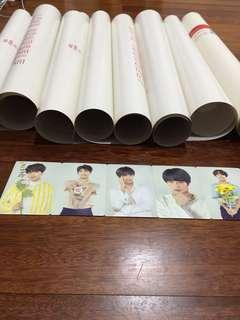 BTS love yourself official poster and photocards