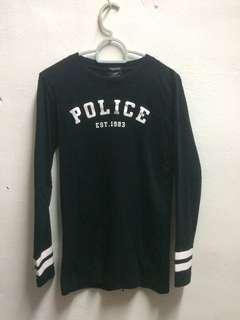 Police long sleeve tshirt #CNYGA