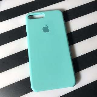 APEEL 湖水綠 iphone 7+ 全包矽膠軟殼