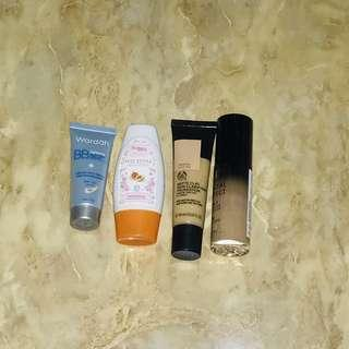 Foundation Alas Bedak Purbasari / Wardah / The Body Shop / Milani