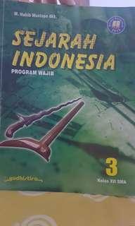 Buku sejarah indonesia kelas 12 program wajib