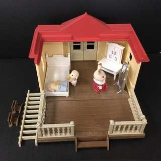 Sylvanian Families Willow Hall Conservatory (Extension for City House with Lights)