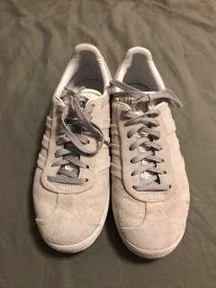 Adidas Originals Suede Grey Gazelle