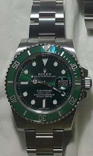 Rolex 116610LV - Hulk