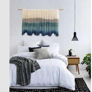 Handwoven Cotton Yarn Wallhanging Tapestry