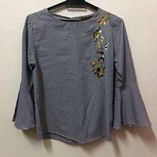 Embroidered Saloma blouse