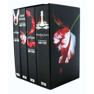 Twilight full set books