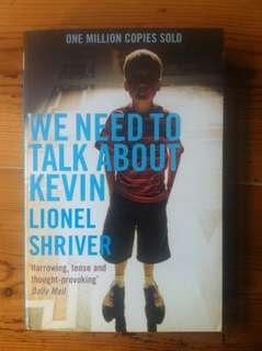 We need to talk about kevin- Lioner sheiver Brand new