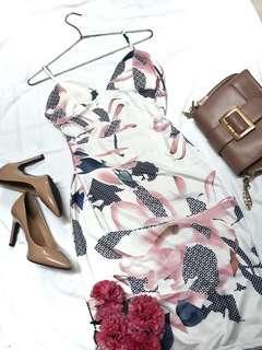 Floral Bandage Summer Dress